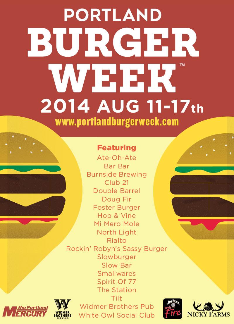 Portland Burger Week 2014