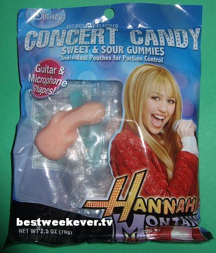 Hannah Montana Concert Sexy Candies
