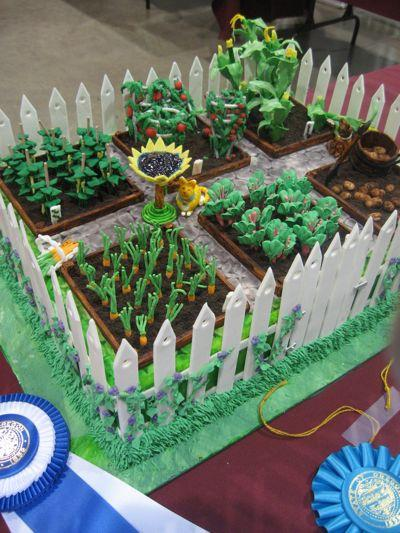 Farm Cake Decoration Ideas
