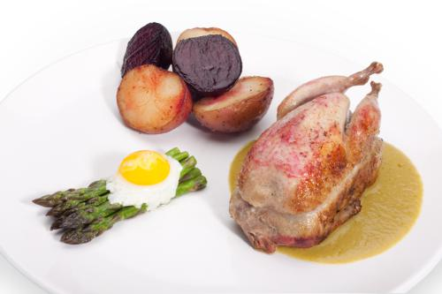 Life cycle of a quail by Chef Martinez