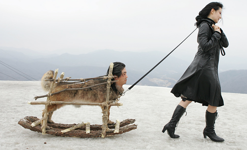 LADY VENGEANCE What? Its a man-sled. Like youve never seen one of those before.