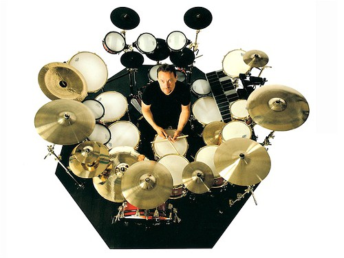Neil Peart Time Machine Drum Kit. Will Neil Peart's modest drum