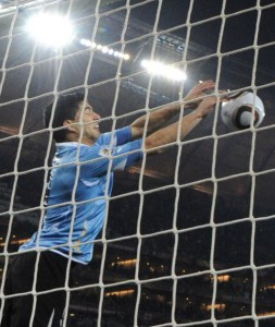 Luis Suarez, your hands will not be good enough this time.