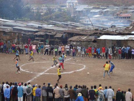Scene from PELADA in Nairobi, Kenya