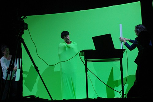 The live green-screened Tender Forever Atari Pong Music Video...or is it app craze!?! Either way it was pretty sweet.