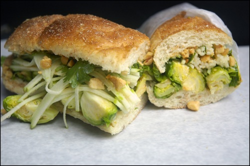 Brussels Sprouts Sandwich — No. 7 Sub, New York