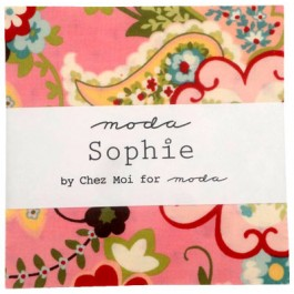 Sophie Charm Pack by Chez Moi for Moda Fabrics