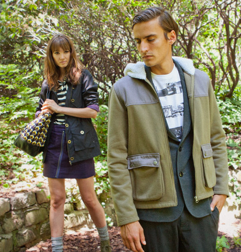 Some new-season outerwear from Brooklyn Industries.