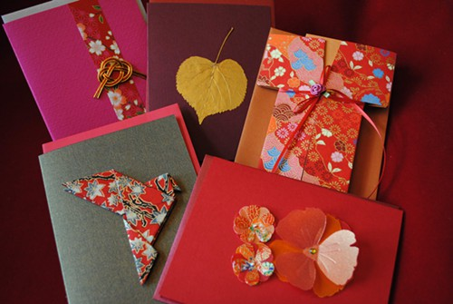 Handmade cards by Janice Mercure