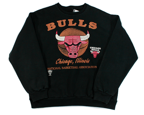90s N.B.A. Chicago Bulls Pullover