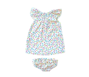 Lucky Wang Akachan Gumdrop Dress Set