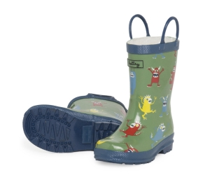 Hatley Monsters Rain Boots