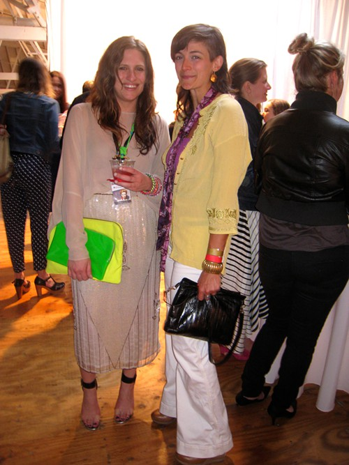 Solestrucks Anna Branch (always the fashion plate) with Nicole Boyer