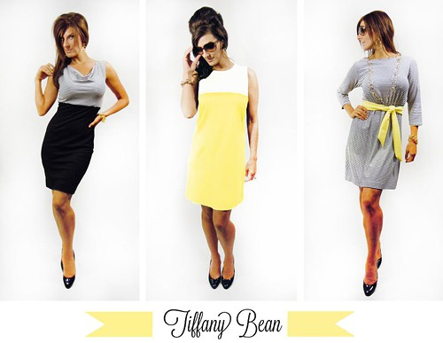 Looks by Tiffany Bean, inhouse designer and owner of participating shop Mabel & Zora.