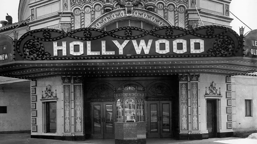 HOLLYWOOD THEATRE Above: the old-school (and possibly new-school) marquee.