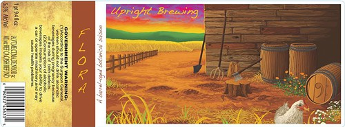 I want to live in this beer label!