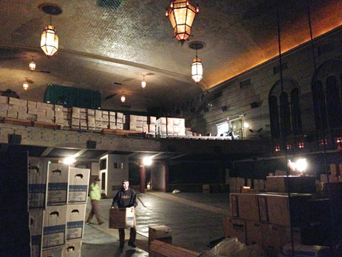 BAGDAD THEATER One of Portlands few remaining movie palaces gets restored.
