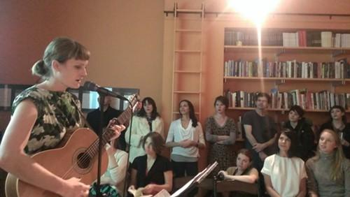 Laura Gibson sings the poetry of Britta Ameel