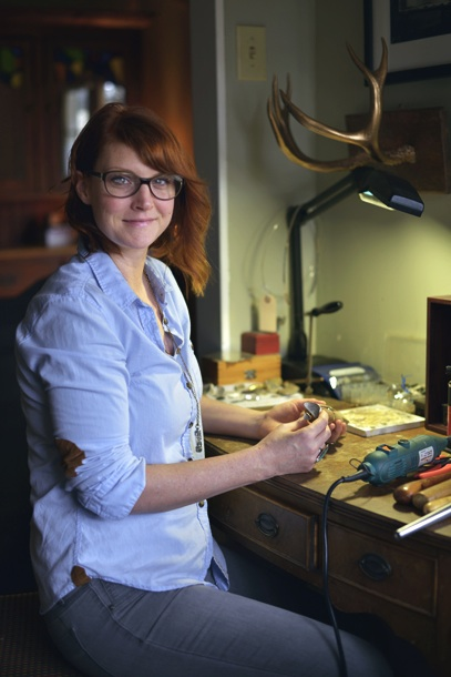 Jessica Adams, designer for Adams and Alchemy Jewelry