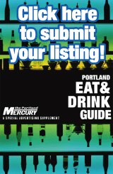 Mercury Eat and Drink Guide